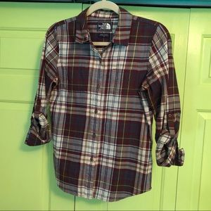 Plaid North Face Flannel